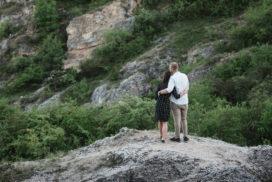 Bolyongás a sziklák között